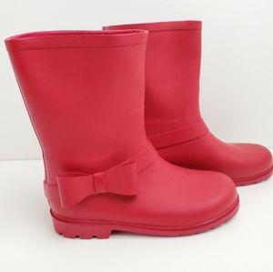 Zara Girl's Rubber Rain Boots